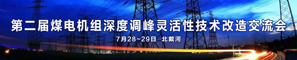 第二届煤电机组深度调峰灵活性技术改造交流会