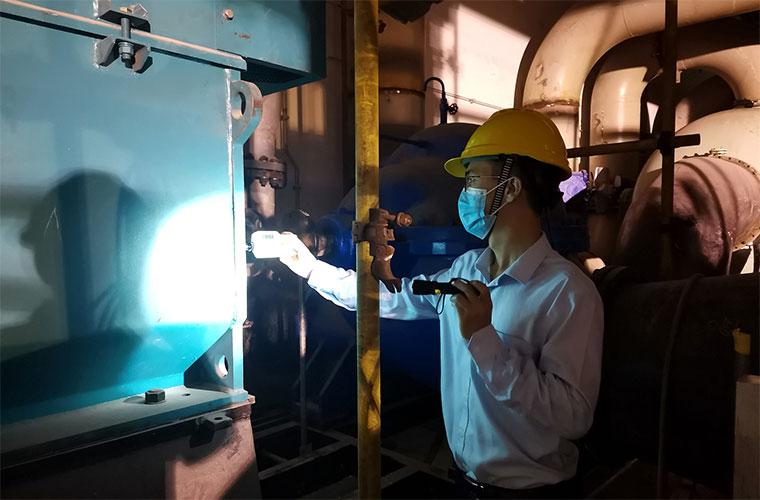 国能连江港电2号机组首台10kV电机顺利完成试运