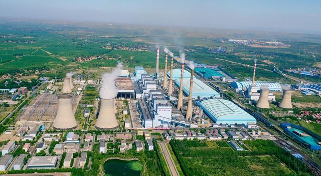 """发力""""双碳""""目标 世界在役最大火电厂转型新能源发电"""